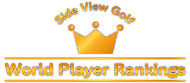 Side View Golf World Player Rankings